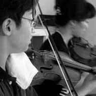Leonard Fu 2010 bei der Kammermusikwoche Böhlen